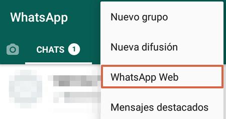 Cómo hacer una videollamada en WhatsApp Web desde la PC paso 3
