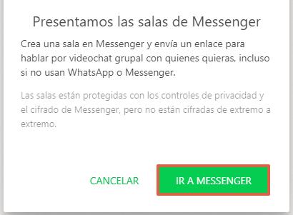 Cómo hacer una videollamada en WhatsApp Web desde la PC paso 7