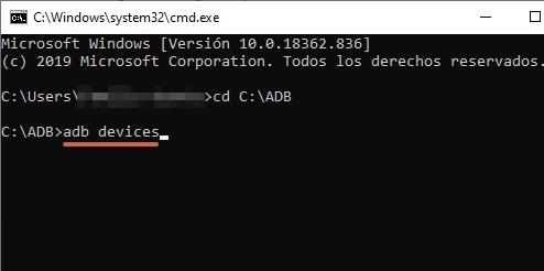Cómo instalar ADB en tu ordenador y conectar tu teléfono Android paso 11