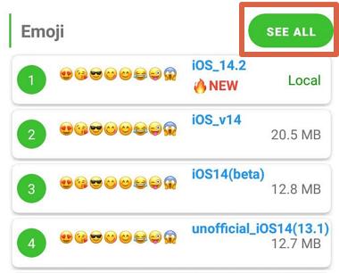 Cómo poner emojis de iPhone en tu móvil Android con zFont 3 paso 2