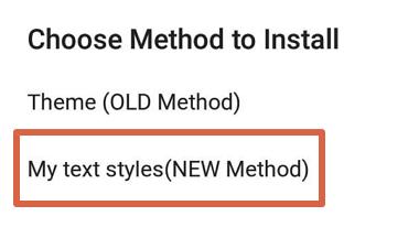 Cómo poner emojis de iPhone en tu móvil Android con zFont 3 paso 5