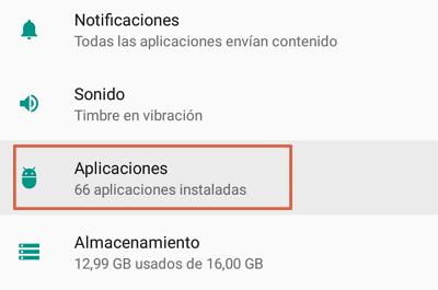 Como saber si WhatsApp esta caido verificando los datos en segundo plano paso 1