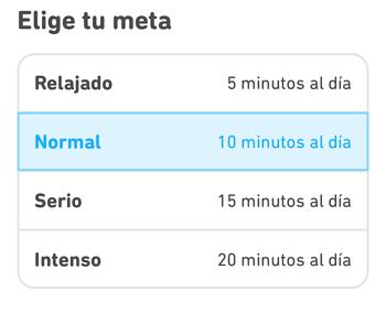 Cómo utilizar Duolingo en tu télefono para aprender inglés paso 7