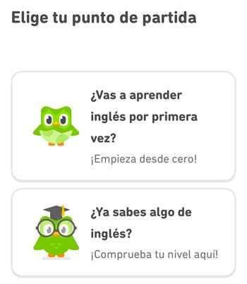 Cómo utilizar Duolingo en tu télefono para aprender inglés paso 8