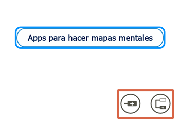 Cómo utilizar Mindomo para hacer mapas mentales en el teléfono paso 5