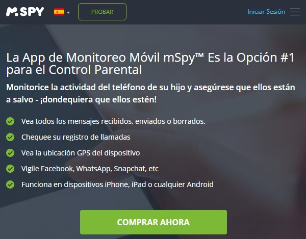 Use mSpy to spy on WhatsApp messages