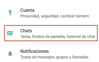 Cómo activar el modo oscuro de WhatsApp en versiones antiguas de Android paso 1