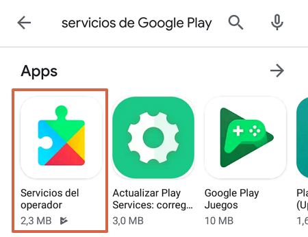 How to update Play Store by updating Google Play services step 3