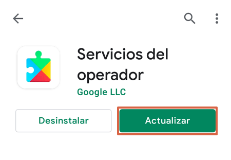 How to update Play Store by updating Google Play services step 4