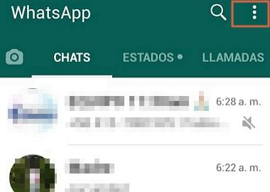 How To Block Someone On WhatsApp Step 1