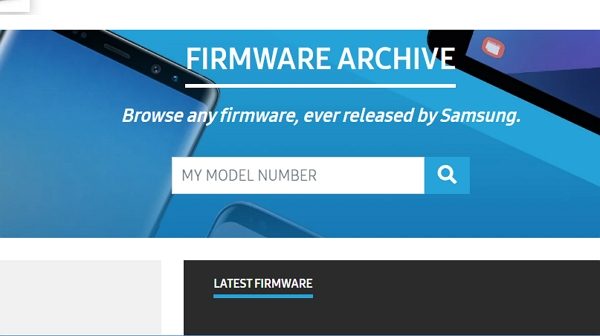 How to download the official firmware of Samsung devices from Sammobile