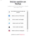 Como iniciar sesión en TikTok web con el móvil para utilizarlo sin descargar la app