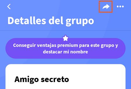 Cómo organizar el sorteo del amigo invisible o secreto en WhatsApp con Amigo Secreto 22 paso 11