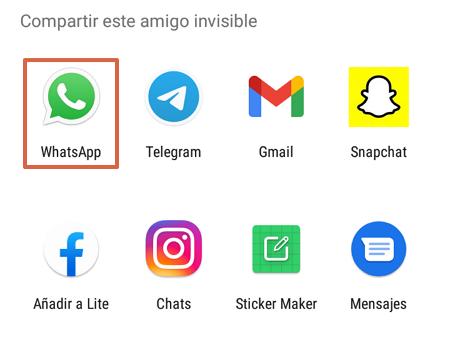 Cómo organizar el sorteo del amigo invisible o secreto en WhatsApp con Amigo Secreto 22 paso 12