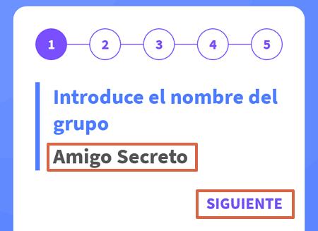 Cómo organizar el sorteo del amigo invisible o secreto en WhatsApp con Amigo Secreto 22 paso 3