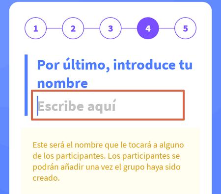 Cómo organizar el sorteo del amigo invisible o secreto en WhatsApp con Amigo Secreto 22 paso 6