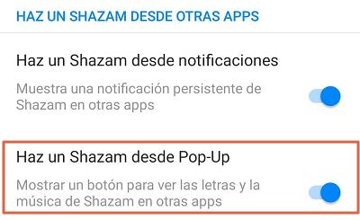 Como reconocer canciones con el móvil utilizando Shazam paso 2