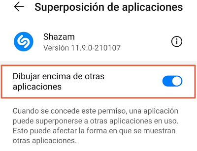 Como reconocer canciones con el móvil utilizando Shazam paso 3