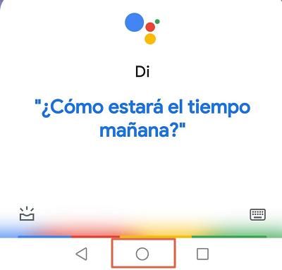 Como reconocer canciones con el móvil utilizando el Asistente de Google paso 1