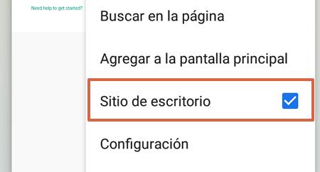 Cómo tener WhatsApp en una Tablet Android usando WhatsApp Web paso 3