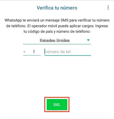 Cómo tener dos cuentas de WhatsApp en iOS y Android con WhatsApp Business paso 2