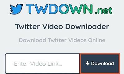 Descargar un video de Twitter desde el móvil Desde un dispositivo Android paso 2