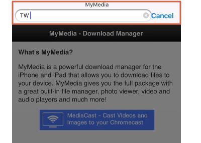 Descargar un video de Twitter desde el móvil Desde un dispositivo iOS paso 2