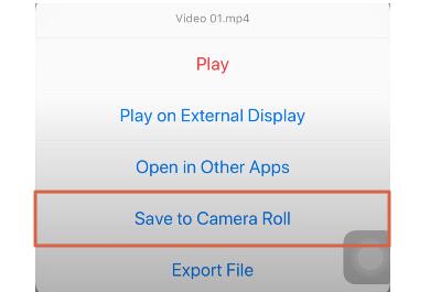 Descargar un video de Twitter desde el móvil Desde un dispositivo iOS paso 4