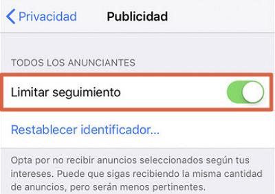 Eliminar publicidad y anuncios en iOS paso 3