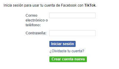 Iniciar sesión en TikTok desde el navegador del móvil paso 3