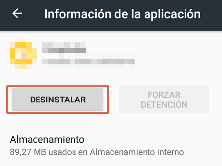 Cómo ingresar al Modo Seguro y eliminar un virus o malware del Android paso 5