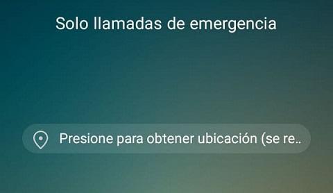 Causas del error solo llamadas de emergencia en el móvil