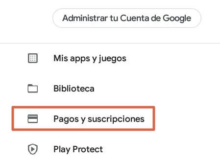 Cómo canjear una tarjeta de la Play Store o Gift Card para comprar desde tu Android paso 2
