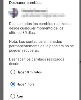 Cómo recuperar contactos borrados de tu SIM en iOS y Android mediante Gmail paso 4