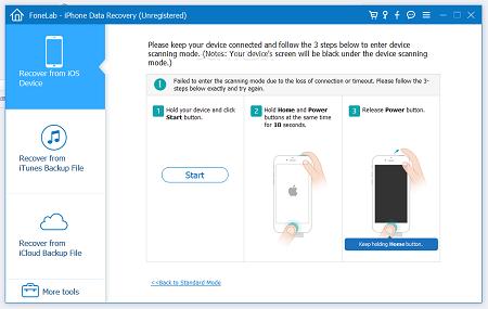 Cómo recuperar contactos borrados de tu SIM en iOS y Android. Con FoneLab iPhone Data Recovery