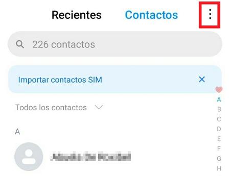 Cómo recuperar contactos borrados de tu SIM en iOS y Android. Desde la SIM. Paso 2