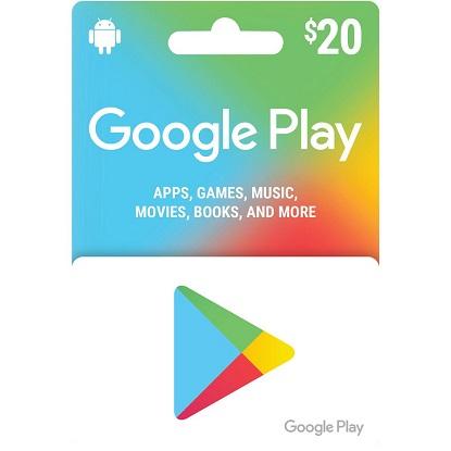 Problemas para canjear una tarjeta de la Play Store