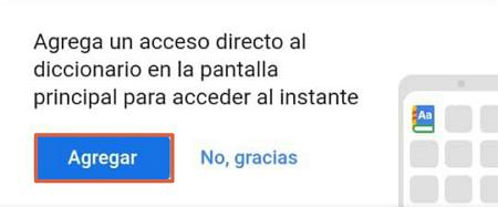 Cómo activar el diccionario de Google en Android o en el navegador en Android. Paso 5