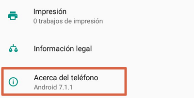Cómo activar modo de Depuración para controlar Android no root con AirDroid paso 1
