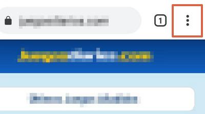 Cómo bloquear páginas web desde Chrome en el celular usando el menú de ajustes de Google paso 3