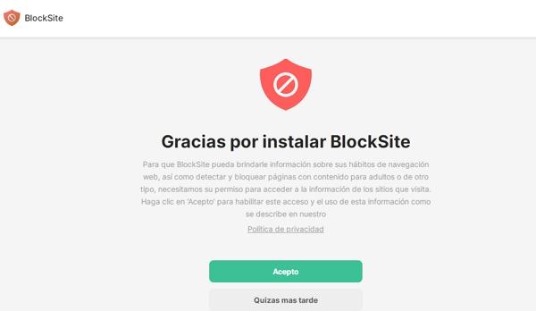 Cómo bloquear páginas web desde Chrome en el ordenador usando BlockSite