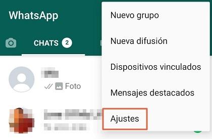 Cómo cambiar el fondo de WhatsApp a todas las conversaciones paso 2