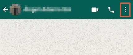 Cómo cambiar el fondo de WhatsApp de forma individual para cada chat paso 1