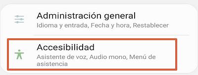 Cómo desactivar Talkback en Android desde los ajustes paso 1