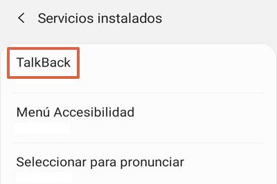Cómo desactivar Talkback en Android desde los ajustes paso 3