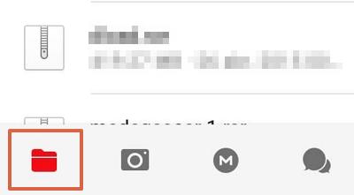 Cómo descargar archivos de MEGA almacenados en tu cuenta desde el móvil paso 2
