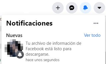Cómo descargar todas tus fotos y datos de Facebook. Desde la Configuración de Facebook. Paso 10