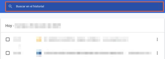 Cómo eliminar o borrar el historial de navegación de Google. Borrar elementos específicos. Paso 5