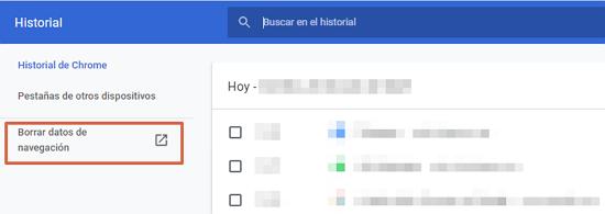 Cómo eliminar o borrar el historial de navegación de Google. Eliminar todos los datos de navegación. Desde la PC. Paso 5