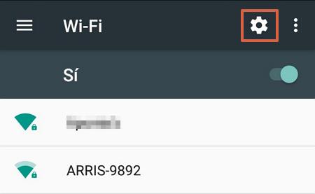 Cómo evitar que el WiFi se deconecte cuando el telefono Android se bloquea paso 3